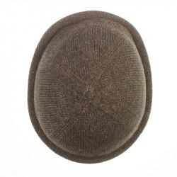 Bonnet Breton MIKI pure laine - marron