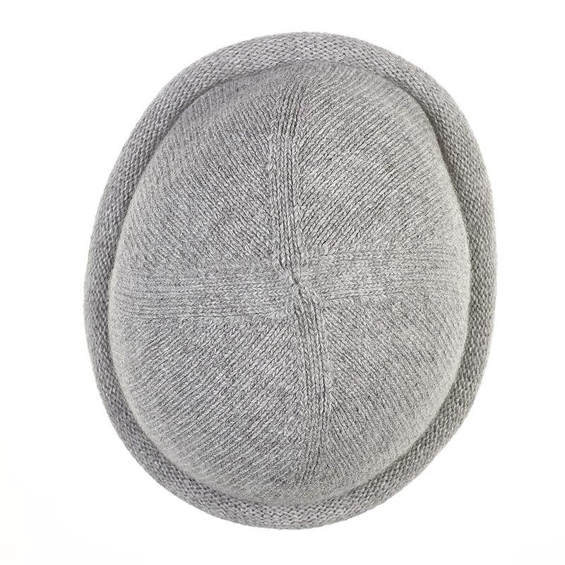 Bonnet Breton MIKI pure laine - gris