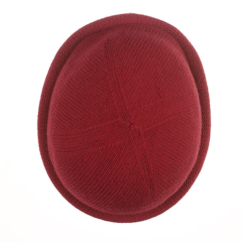 Bonnet Breton MIKI pure laine - rouge
