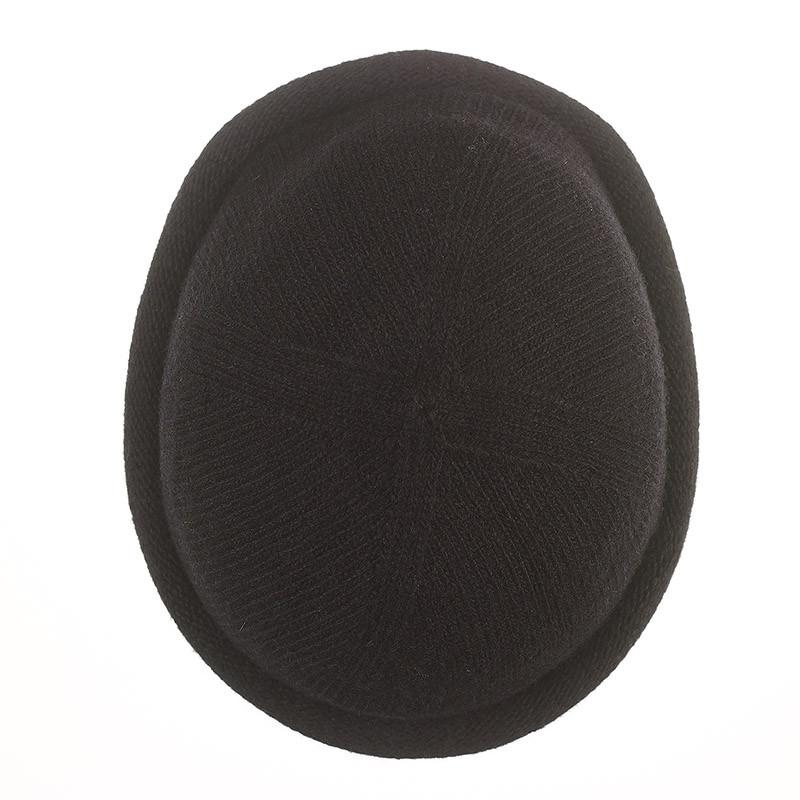 Bonnet Breton MIKI pure laine - noir