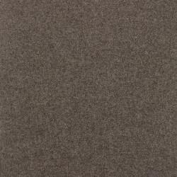 Écharpe classique pure laine femme - marron