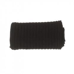 Écharpe épaisse cachemire homme - noir