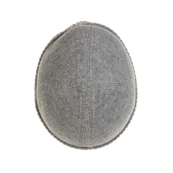 Bonnet classique pure laine - gris