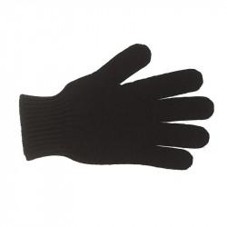 Gants classiques pure laine homme - noir