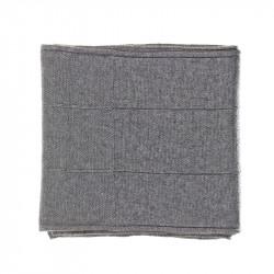 Écharpe classique cachemire homme - gris