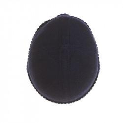 Bonnet classique pur cachemire femme - bleu marine