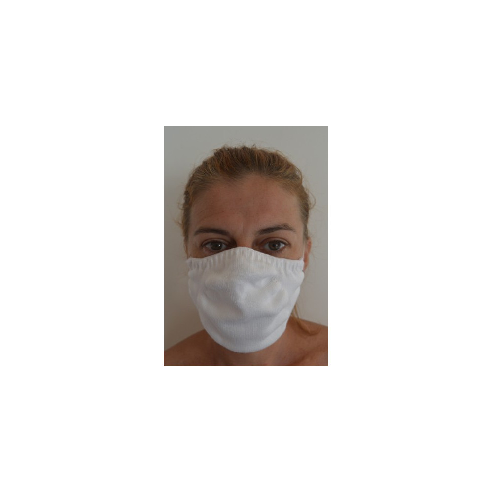masque lavable coton bio