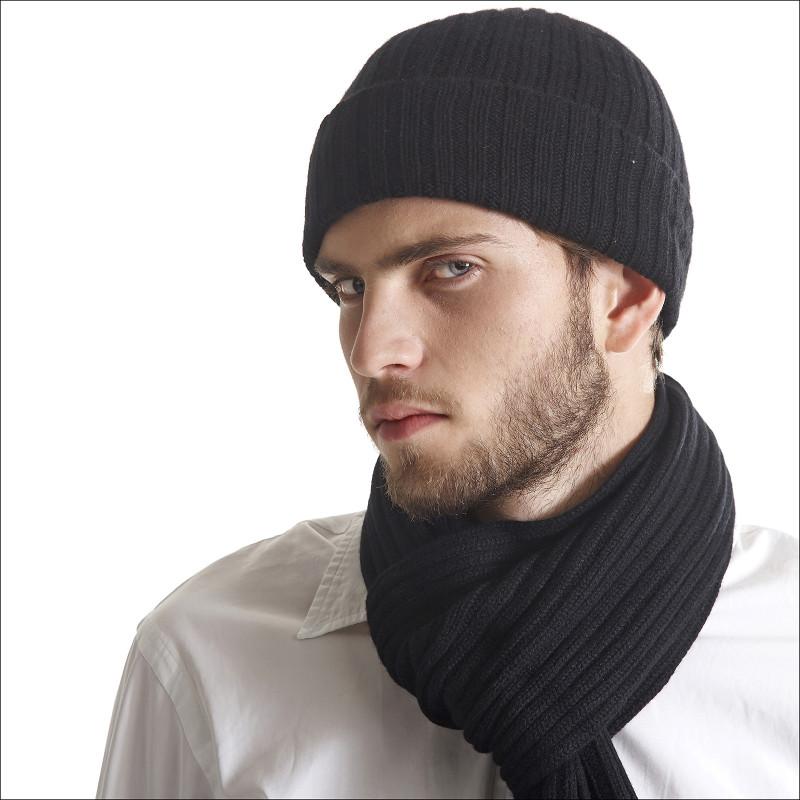 bonnet homme noir
